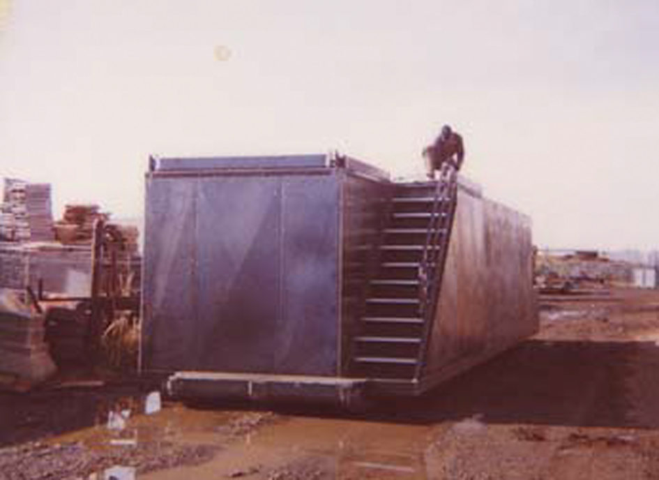 Previously Completed Manufactured Water Tank